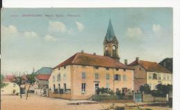Angevillers Mairie  Eglise Presbytére - France