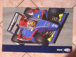 Auto E Moto - Da Calend. M. Marelli -cm. 38x60 - Citroen  WRC-C4 Reteo- I Sport International-GP2-Series Media Serv. - Corse Di Auto