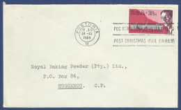 POSTAL USED AIRMAIL COVER - Stamps