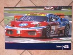 Auto E Moto - Da Calend. M. Marelli -cm. 38x60 - FerrariF430 GTC GT2-AF Corse - E Ferrari F1 - F2007. - Corse Di Auto