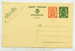 Belgique Entier 118 Neuf - Postkaarten [1934-51]
