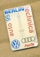 13-aut183. Pin Audi Berlin Technica Auto 95 - Transportes