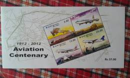 Sri Lanka 2012 Aviation Centenary MS Mint - Sri Lanka (Ceylon) (1948-...)