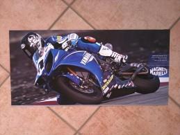 Auto E Moto - Da Calend. M. Marelli -cm. 29x60 - Red Bull Racing F1 RB5- Retro-Yamaha AMA Superbike YZF - R1. - Corse Di Auto