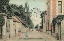 VERNEUIL  SUR SEINE ENTREE - Verneuil Sur Seine