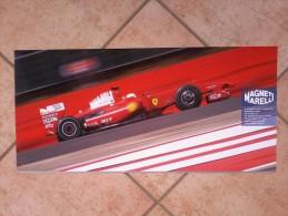 Auto E Moto - Da Calend. M. Marelli -cm. 29x60 - Ferrari  E Magneti Marelli. - Corse Di Auto