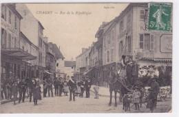 Chagny Rue De La République - Chagny