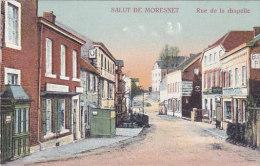 Salut De Moresnet - Rue De La Chapelle (colorisée, 97191) - La Calamine - Kelmis
