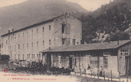 CPA  De  MOLINGES  (39)  -  Chamoiserie  Du  Longviry   //  TBE - Andere Gemeenten