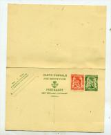 Belgique Entier 113 Et Complément Neuf - Stamped Stationery