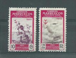 150022938  MARRUECOS  ESPAÑA  EDIFIL   Nº  375/381 */MH - Marruecos Español