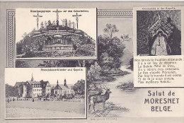 Salut De Moresnet Belge (multivues - Franziskanerkloster, Verlag H. Grümmer) - La Calamine - Kelmis
