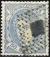 ESPAÑA 1870 Mi:ES 101, Sn:ES 166, Yt:ES 107, Edi:ES 107 - 1868-70 Gobierno Provisional