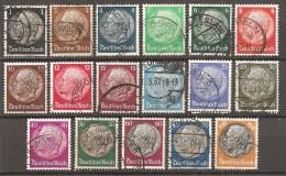 DR 1933 // Michel 512/528 O (3259) - Deutschland