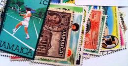 JAMAIQUE, Lot De 100 Timbres Tous Differents Neufs Et Oblitérés. Satisfaction Assurée - Jamaica (1962-...)