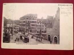 67 STRASSBURG Rabenplatz Und Rabenbrucke + Cad Drucksacher - Strasbourg