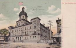 Maine Portland City Hall 1906