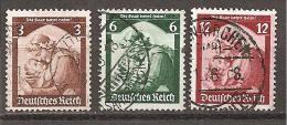 DR 1935 // Mi. 565,566,567 O - Gebraucht
