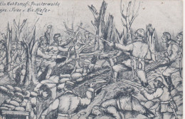 Nr.  5581,  Feldpost, Im Priesterwalde - Guerre 1914-18