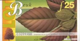 Nationale Groenfonds Loterij - 4 Loten: Beuk - Kastanje - Meidoorn - Rhododendron - 13 Juli 1995 - Loterijbiljetten