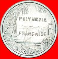 ★SHIP: FRENCH POLYNESIA★ 2 FRANCS 1979! LOW START★NO RESERVE! - Polynésie Française