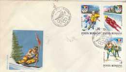 ROMANIA  BUCURESTI  Albertville 92  1/02/92 - Hiver 1992: Albertville