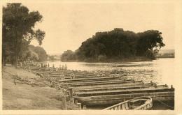 CPA - POISSY - ECOLE DE PONT DU 3e REGIMENT DU GENIE - La Gare D'eau Et L'Ile St Louis - Bon État - - Poissy