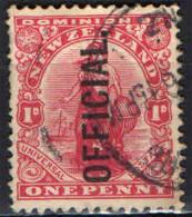 NUOVA ZELANDA - 1910 - SIMBOLO DEL COMMERCIO - USATO - Dienstzegels