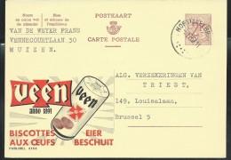 Publibel Obl. N° 2153 (Biscottes Aux Oeufs  VEEN) Obl: 1967 - Publibels