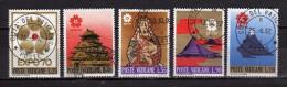 Vaticano ° - 1969 . Esposizione Universale Di Osaka. Unif. 479/83.  Usati - Vatican
