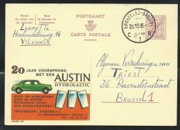 Publibel Obl. N° 2116 ( Automobile: Austin, Cars) Obl: Bxl 1966 - Publibels
