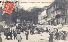 FONTENAY-LE-COMTE LA PLACE DU MARCHE 85 VENDEE - Fontenay Le Comte