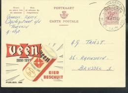 Publibel Obl. N° 2088 ( Eier Beschuit  VEEN) Obl: Tongeren 1966 - Stamped Stationery