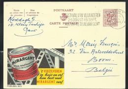 Publibel Obl. N° 2073 (Peinture MIRARGENT Pour Métaux) Obl: Gent 1965 - Stamped Stationery