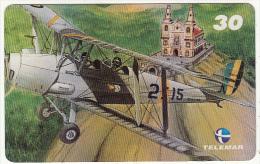 BRAZIL(Telemar) - De Havilland DH-82 - Tiger Moth, 10/00, Used - Avions