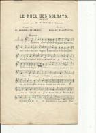 Partition ( Paroles De (Villemer&Delormel)-Musique De (R  Planquette)--Chanson-Le Noel Des Soldats - Scores & Partitions