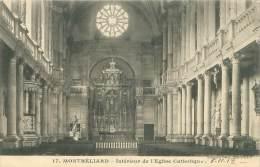 25 - MONTBELIARD - Intérieur De L'Eglise Catholique - Montbéliard