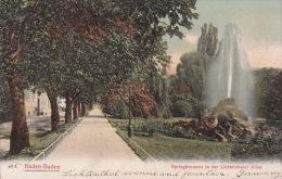 Germany 1908 Baden Baden Garden - Postcards
