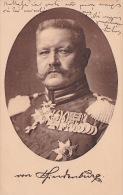 Germany General Von Hindenberg, Red Cross Charlottenburg - World
