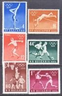 BULGARIA  940-45    *   SPORTS  OLYMPICS - 1945-59 People's Republic