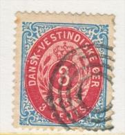 DANISH  WEST  INDIES  6   (o) - Denmark (West Indies)
