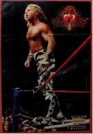 """Wrestling Plakat : Shawn """"Heartbreak Kid"""" Michaels  -  Von World Wrestling Federation Magazin Ca. 19906 - Kampfsport"""