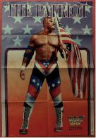 Wrestling Plakat : The Patriot / Del Wilkes -  Von World Wrestling Federation Magazin Ca. 1990 - Kampfsport