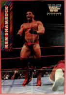 Wrestling Plakat :  Ken Shamrock  -  Von World Wrestling Federation Magazin Ca. 1990 - Kampfsport