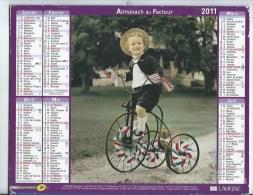 Calendrier Des Postes 2011 69 Rhone - Calendars