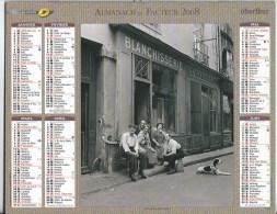 Calendrier Des Postes 2008 69 RHONE - Calendars