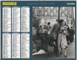 Calendrier Des Postes 2007 69 RHONE - Calendars