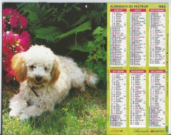 Calendrier Des Postes 1992 69 Rhone - Calendars