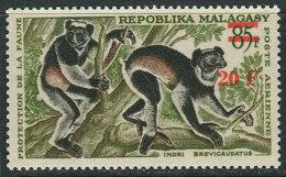 Malagasy 1968, Michel #582 MNH/Luxe. Lemurs (TS17) - Madagascar (1960-...)