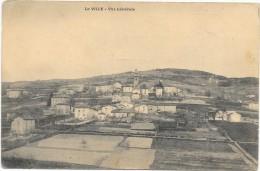 LA VILLE:VUE GENRALE - France